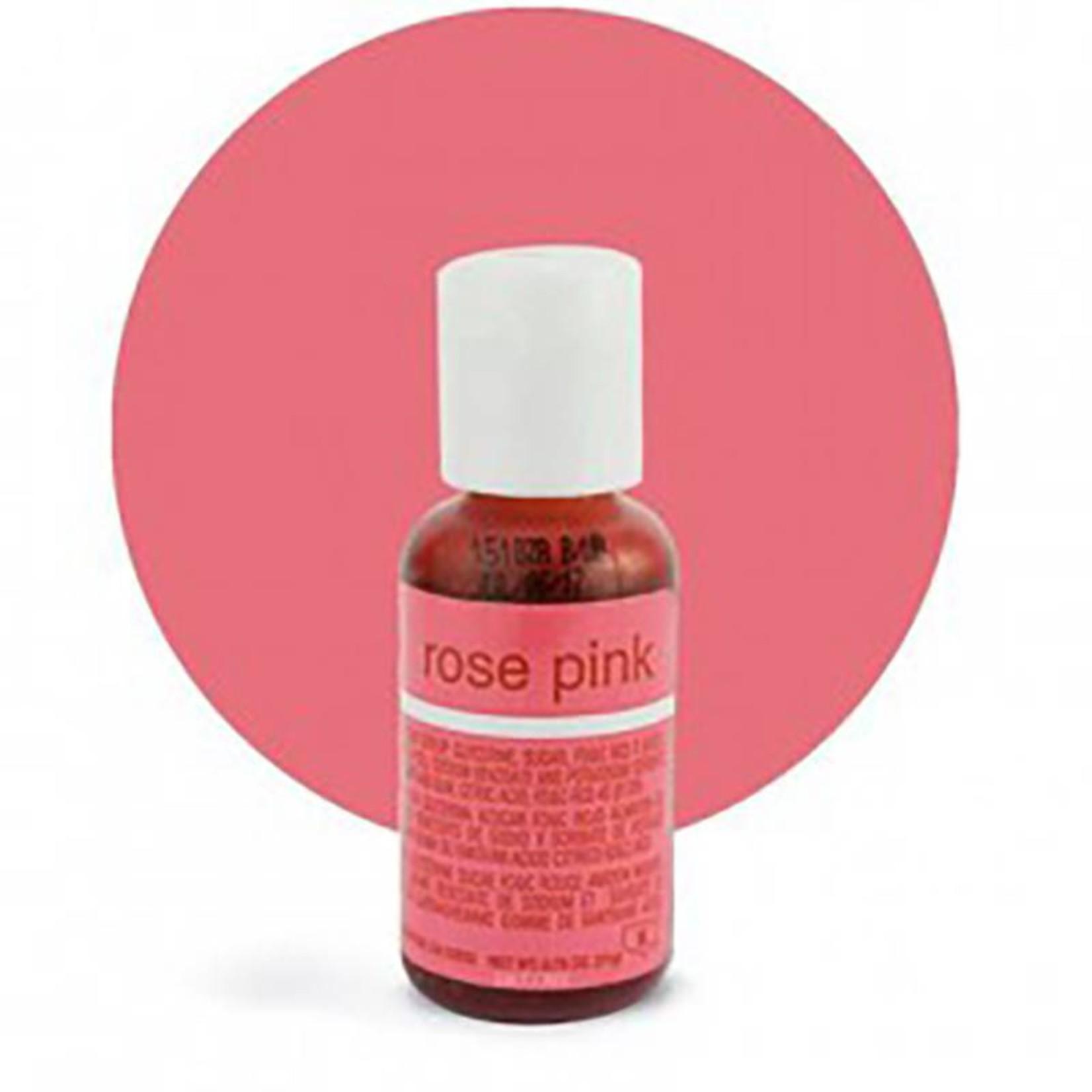 Chefmaster Chefmaster - Rose Pink Gel food color - 0.70oz, 41-5129