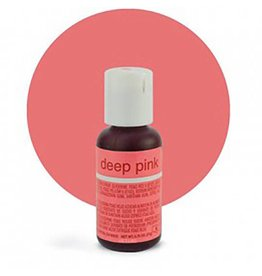 Chefmaster Chefmaster - Deep Pink Gel food color - 0.70oz