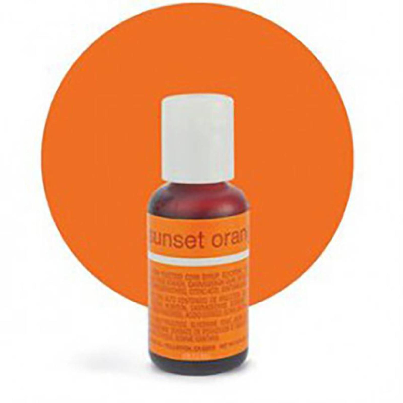 Chefmaster Chefmaster - Sunset Orange Gel food color - 0.70oz