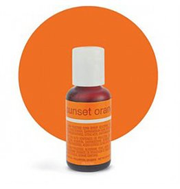 Chefmaster Chefmaster - Sunset Orange Gel food color - 0.70oz