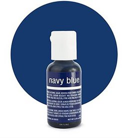 Chefmaster Chefmaster - Navy Blue Gel food color - 0.70oz