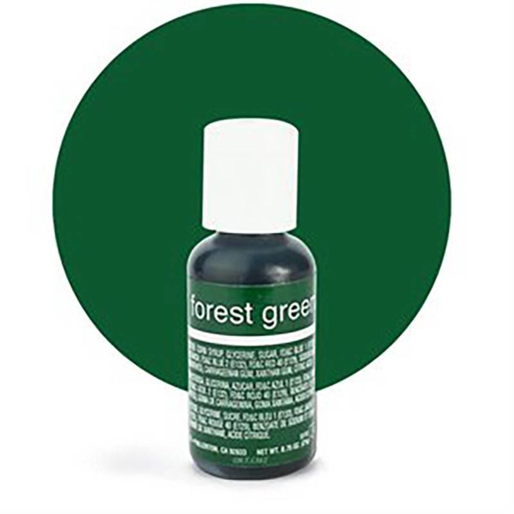 Chefmaster Chefmaster - Forest Green Gel food color - 0.70oz