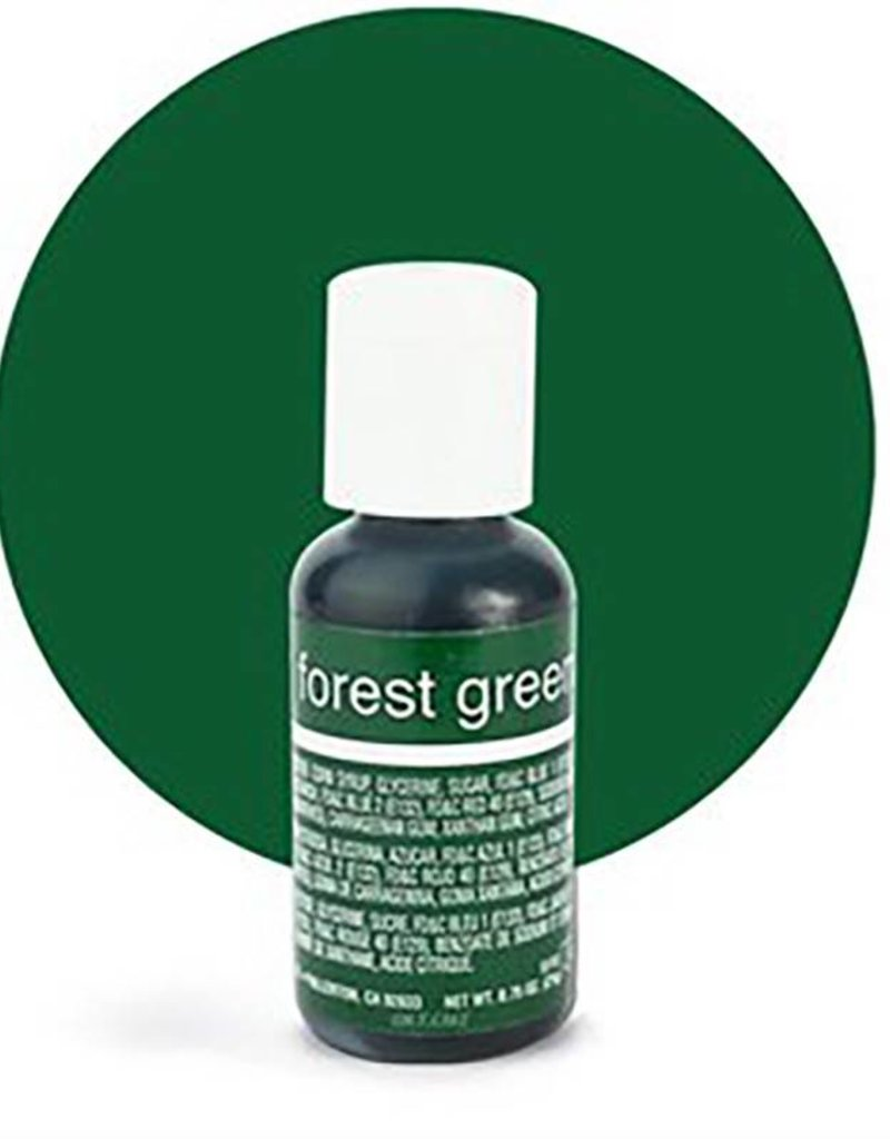 Chefmaster Chefmaster - Forest Green Gel food color - 0.70oz