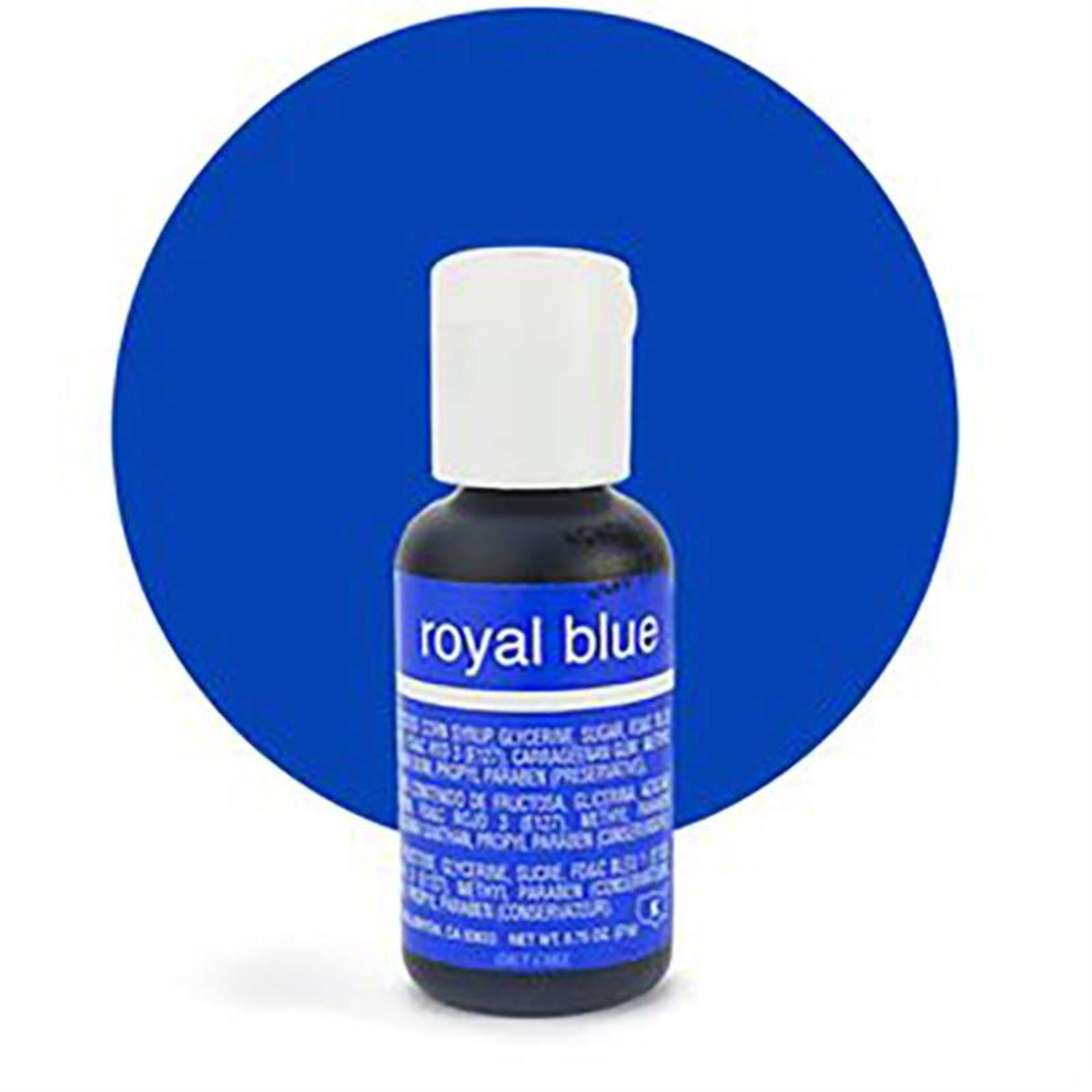 Chefmaster Chefmaster - Royal Blue Gel food color - 0.70oz