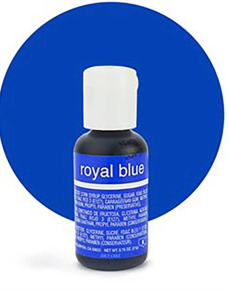 Chefmaster Chefmaster - Royal Blue Gel food color - 0.70oz