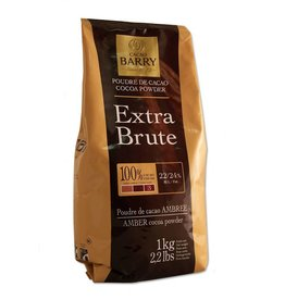 Cacao Barry Cacao Barry - Cocoa Powder, Extra Brute 22-24% - 2.2lb, DCP-22SP-US-760 *6*