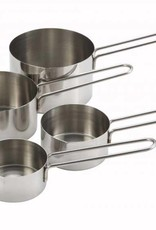 Winco Winco - Measuring Cups: 1/4, 1/3, 1/2, 1 cup sizes, MCP-4P