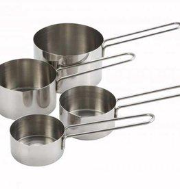 Winco Winco - Measuring Cups: 1/4, 1/3, 1/2, 1 cup sizes, MCP-4P