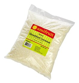Amifruit Amifruit - Coconut fancy shredded, unsweet - 3lb, AMI850 *5*