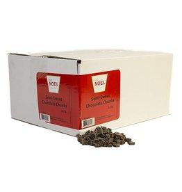 Cacao Noel Noel - Chunks, Semi-sweet - 30lb, NOE210