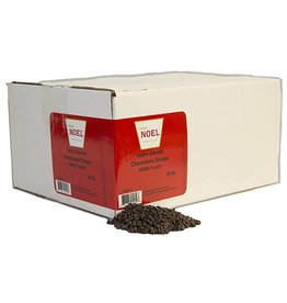Cacao Noel Noel - Drops, mini, Semi-sweet 50% - 30lb (4000ct), NOE211