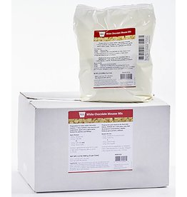 Cacao Noel Noel - Mousse mix, White, 1 step - 2.2lb (box of 5), NOE352