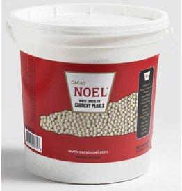 Cacao Noel Noel - White chocolate Pearls - 2.2lb, NOE975