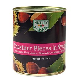 Nutley Farms Nutley Farms - Chestnut pieces in Syrup - 2.3lb, NU1031