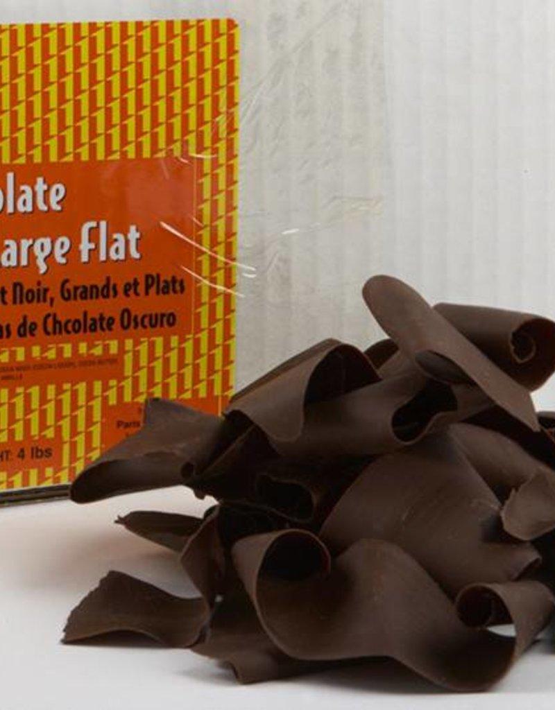 Pastry 1 Pastry 1 - Dark Chocolate Flat Shavings, Large - 4lb, PA3510