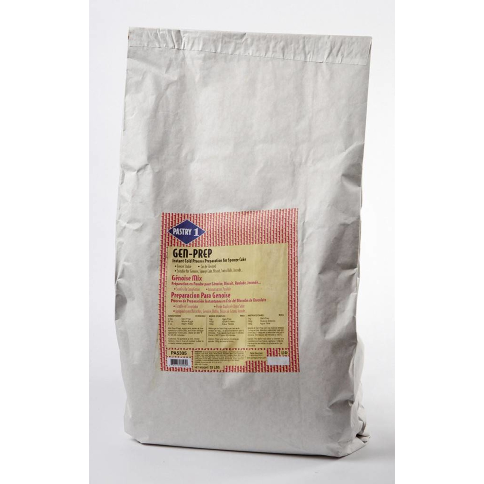 Pastry 1 Pastry 1 - Genoise cake mix - 33lb, PA5305