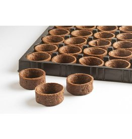 Moda Moda - Tart shell, Chocolate round - 1.3'' (288ct), PA7210