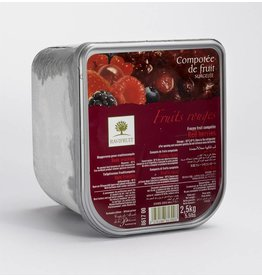Ravifruit Ravifruit - Compote, Red Fruits - 5.5lb, RAV300 *2*