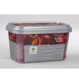 Ravifruit Ravifruit - Ruby Peach Puree - 2.2lb, RAV810 *5*