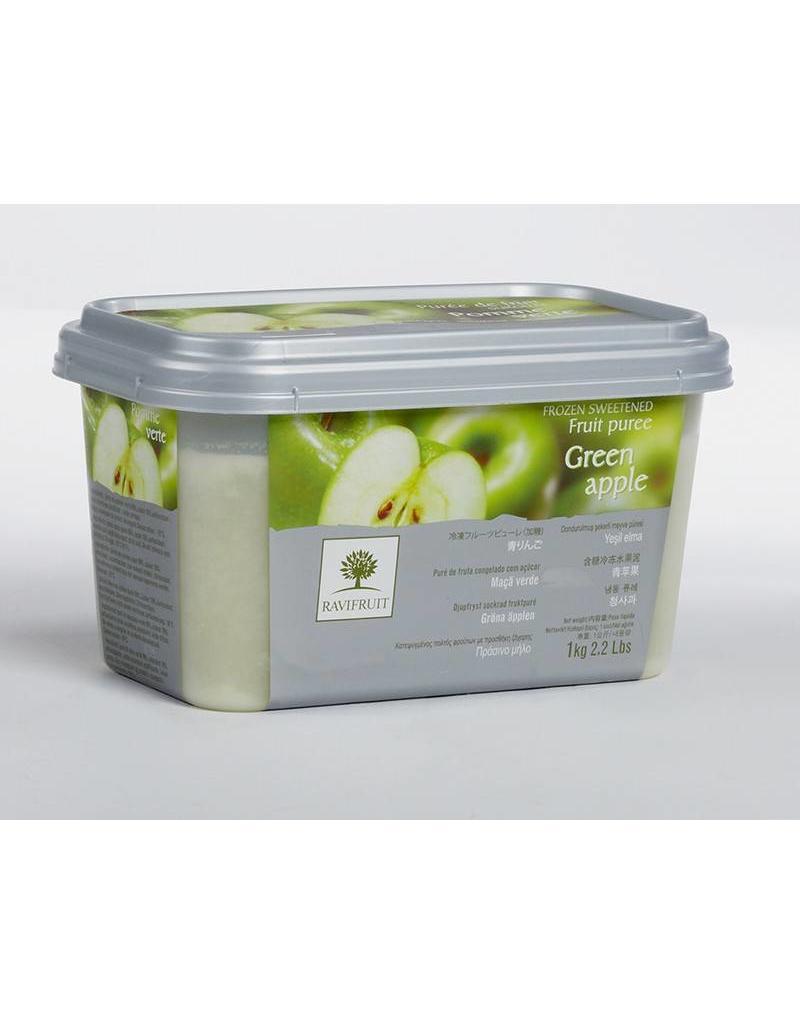 Ravifruit Ravifruit - Green Apple Puree - 2.2lb, RAV881 *5*