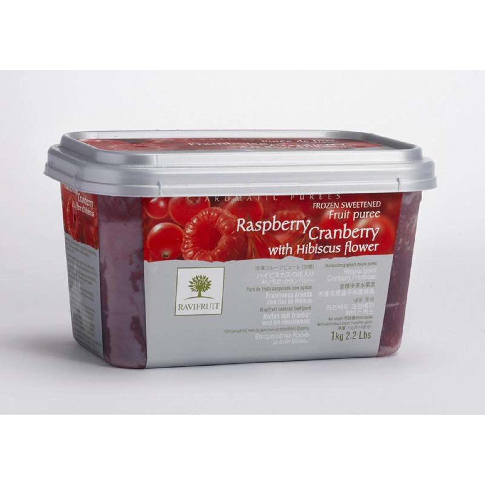 Ravifruit Ravifruit - Raspberry/Cran/Hibiscus Puree - 2.2lb, RAV992