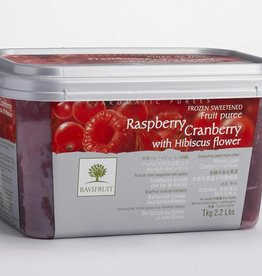 Ravifruit Ravifruit - Raspberry/Cran/Hibiscus Puree - 2.2lb, RAV992 *5*
