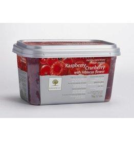 Ravifruit Ravifruit - Puree, Raspberry/Cran/Hibiscus - 2.2lb, RAV992 *5*