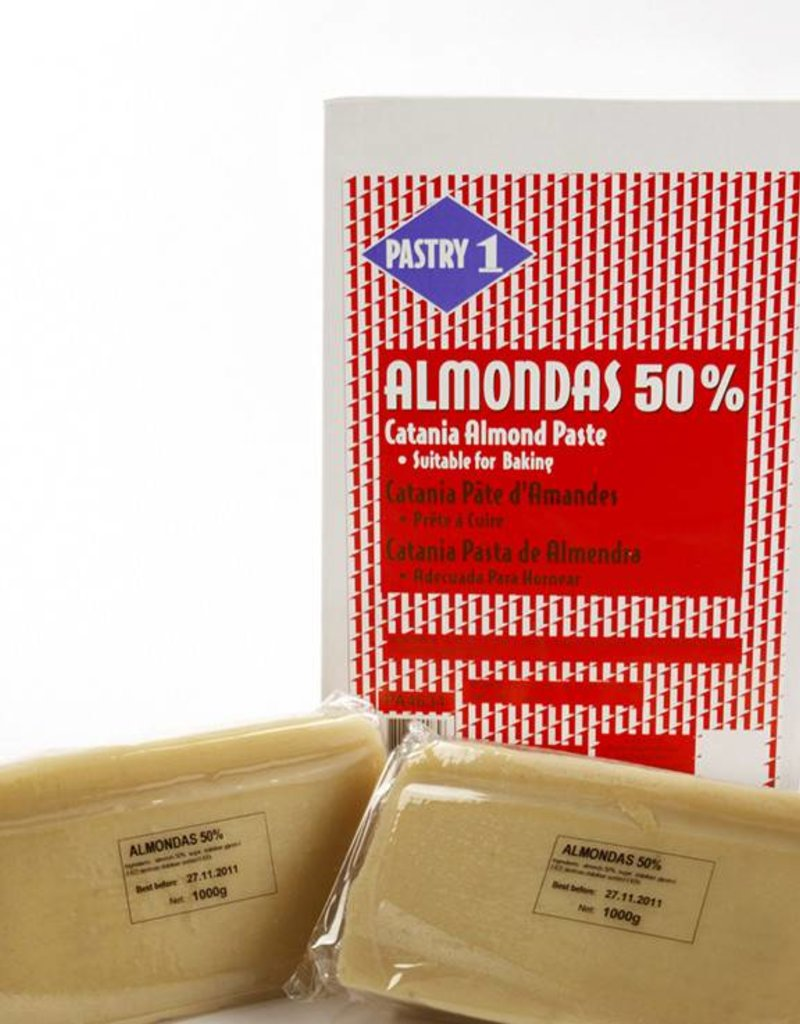 Pastry 1 Pastry 1 - Almond paste Raw 50% - 2.2lb, PA4634
