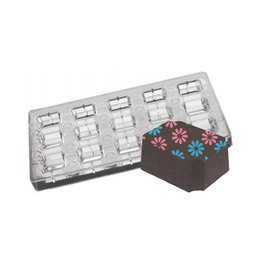 Fat Daddios Fat Daddios - Magnetic mold, Indented Corner Rectangle (15 Cavity), PCMM-01