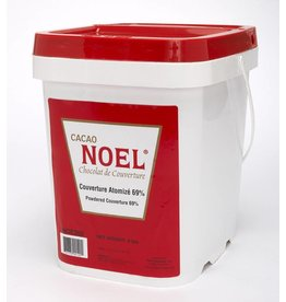 Cacao Noel Noel - Atomized Couverture 69% - 8lb, NOE300