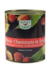 Nutley Farms Nutley Farms - Chestnut, whole in syrup - 2.3lb, NU1030