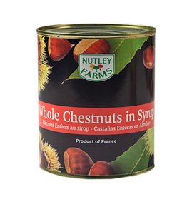 Nutley Farms Nutley Farms - Chestnut, whole in syrup - 2.3lb, NU1030