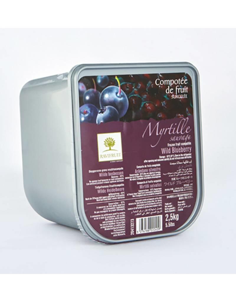 Ravifruit Ravifruit - Compote, Wild Blueberry/Yuzu - 5.5lb, RAV305 *2*
