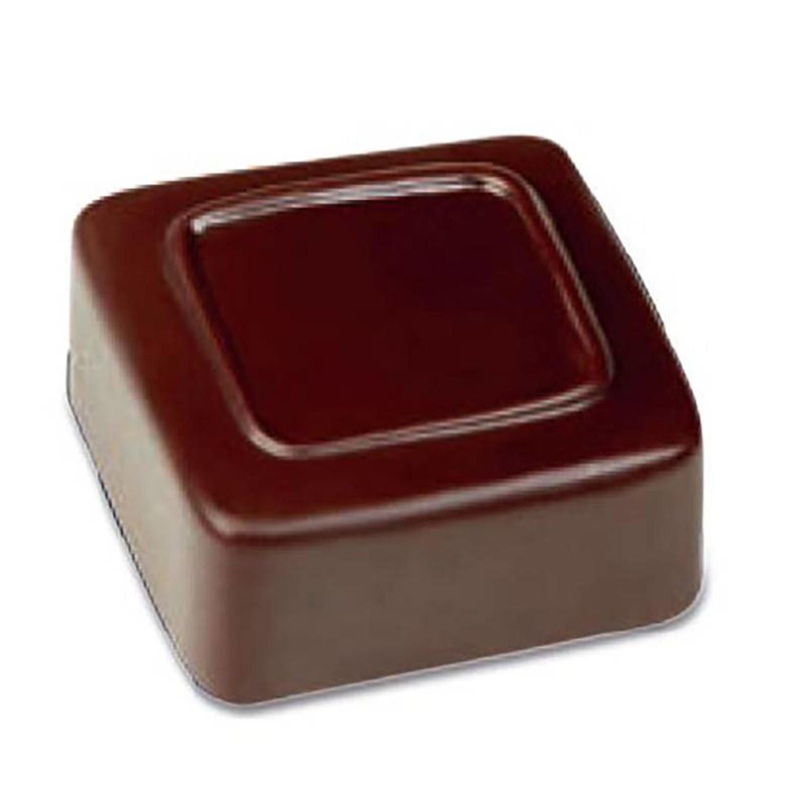 Pavoni Pavoni - Artisanal Polycarbonate Chocolate Mold, Square - Line, PC105