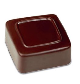 Pavoni Pavoni - Artisanal Polycarbonate Chocolate Mold, Square - line, PC105