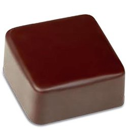 Pavoni Pavoni - Artisanal Polycarbonate Chocolate Mold, Square - smooth, PC112