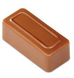 Pavoni Pavoni - Artisanal Polycarbonate Chocolate Mold, Rectangle - line, PC106