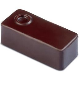 Pavoni Pavoni - Artisanal Polycarbonate Chocolate Mold, Rectangle - point, PC108