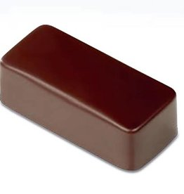 Pavoni Pavoni - Artisanal Polycarbonate Chocolate Mold, Rectangle - smooth, PC114