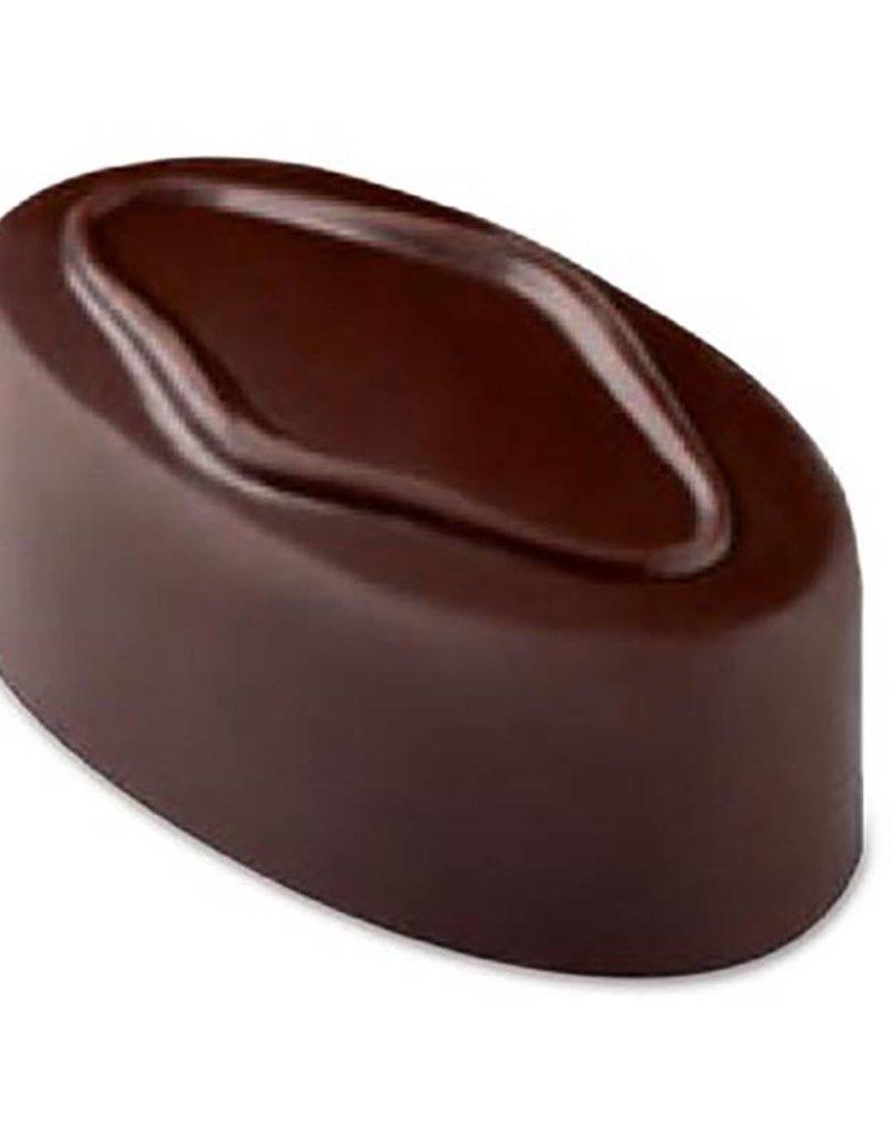 Pavoni Pavoni - Artisanal Polycarbonate Chocolate Mold, Oval - roar, PC110