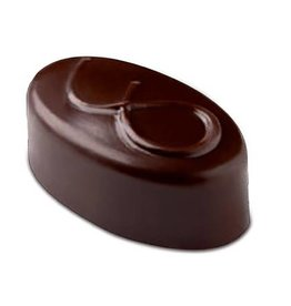 Pavoni Pavoni - Artisanal Polycarbonate Chocolate Mold, Oval - node, PC111