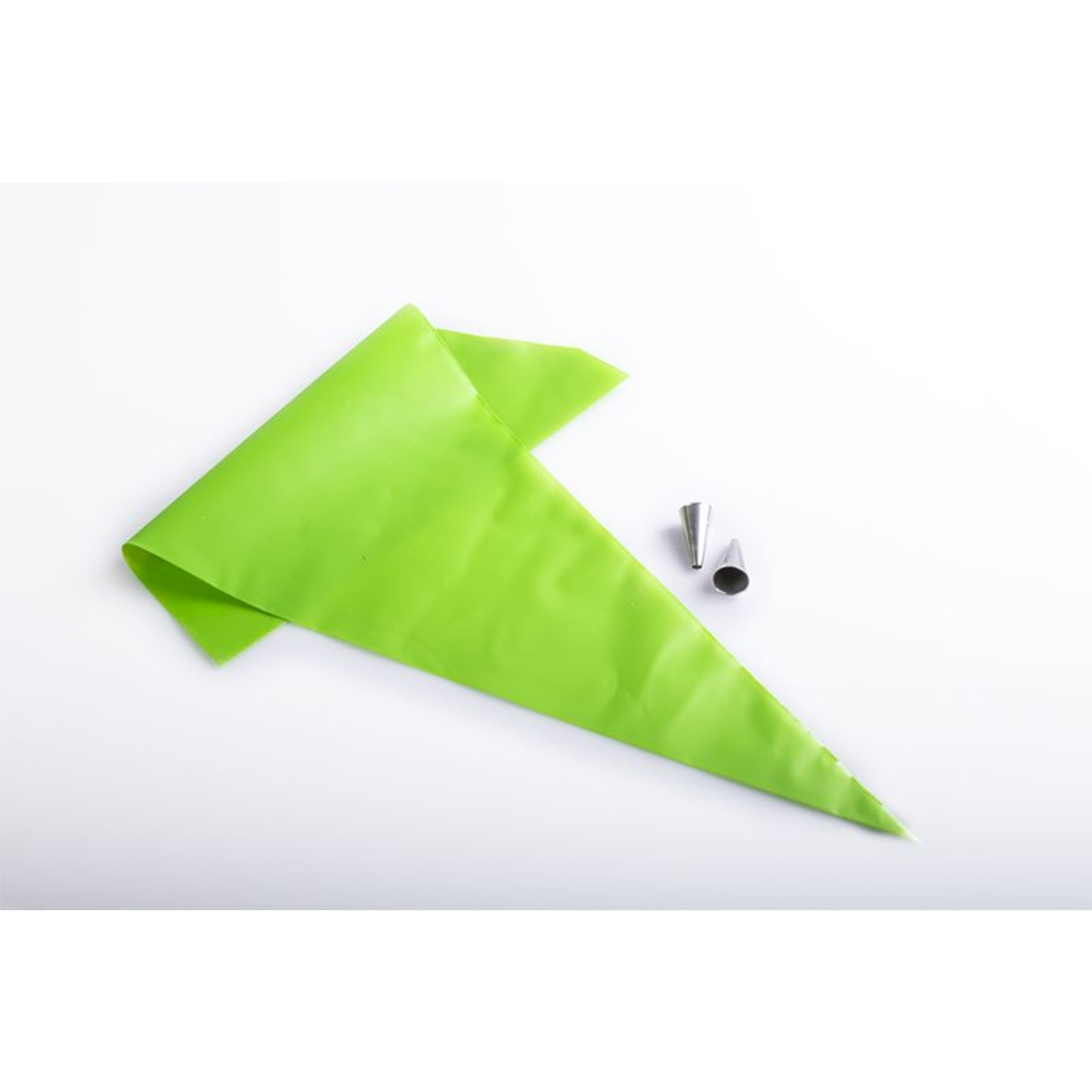 One Way One Way - Disposable Pastry Bags - Comfort Green - 21'' (100ct), 1026