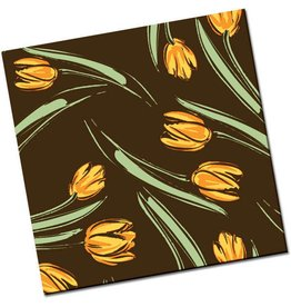 Chocobutter Chocobutter Transfers - Tulips - Orange (10 sheets)