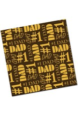 Chocobutter Chocobutter - Cocoa butter transfer, #1 Dad (10 sheets)