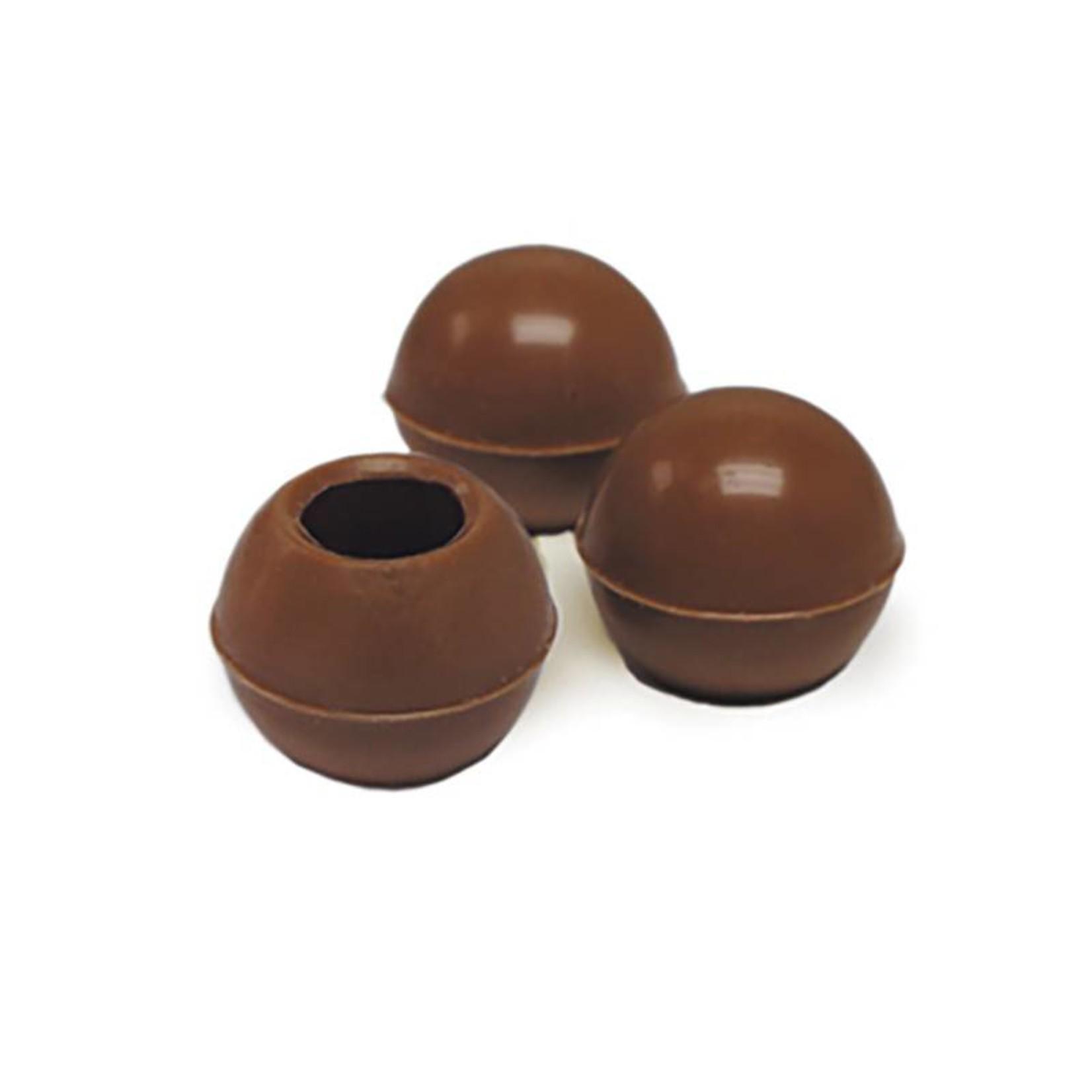 Dobla Dobla - Milk Chocolate Truffle Shells - 1'' (504ct), 96821 | 77011