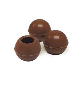Dobla Dobla - Milk Chocolate Truffle Shells - 1'' (504ct), 96821   77011