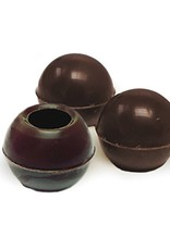 Dobla Dobla - Dark Chocolate Truffle Shells, - 1'' (504ct), 96811 | 77013