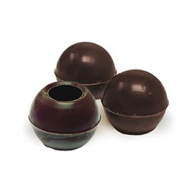 Dobla Dobla - Dark Chocolate Truffle Shells, - 1'' (504ct), 96811 | 77013