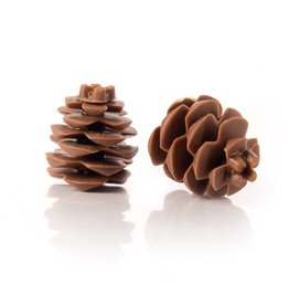 Dobla Dobla - Chocolate Pinecone, 2.5cm (18ct), 77265