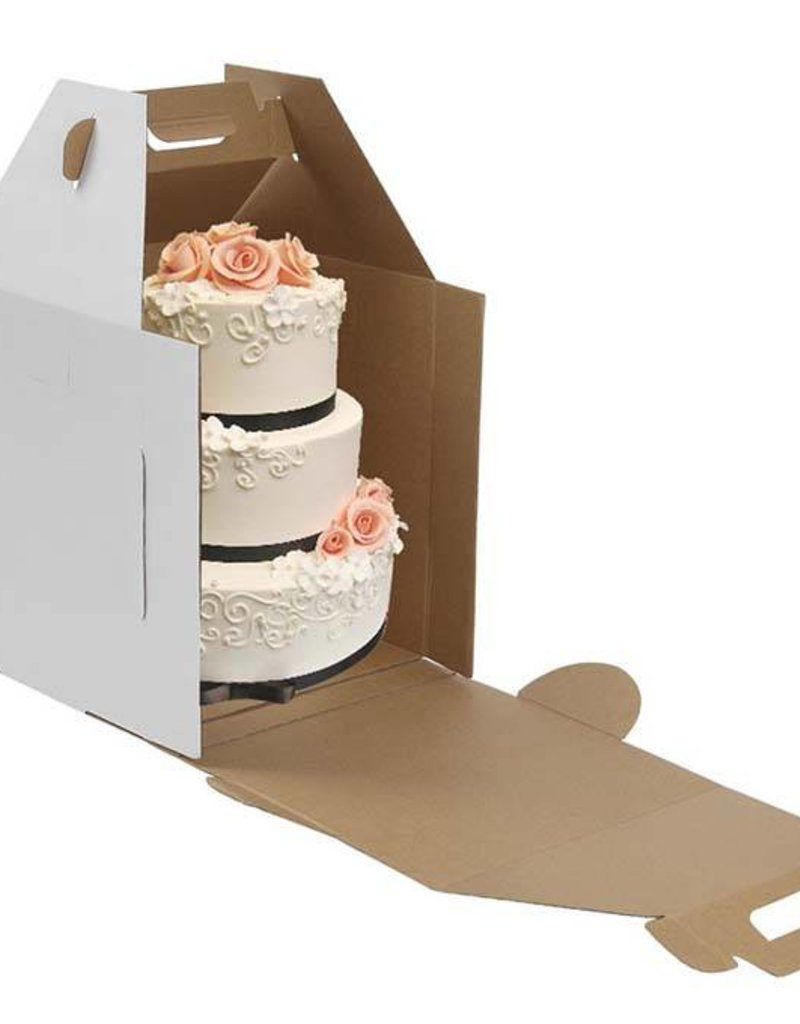 Whalen Whalen - Cake box - Corrugated w/out window - 16x16x18''